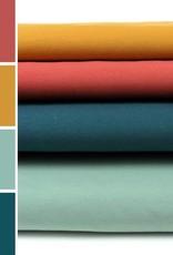 About Blue Fabrics French Terry Uni color 9  Blue Haze