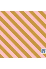 About Blue Fabrics French Terry - Bonbon Dia