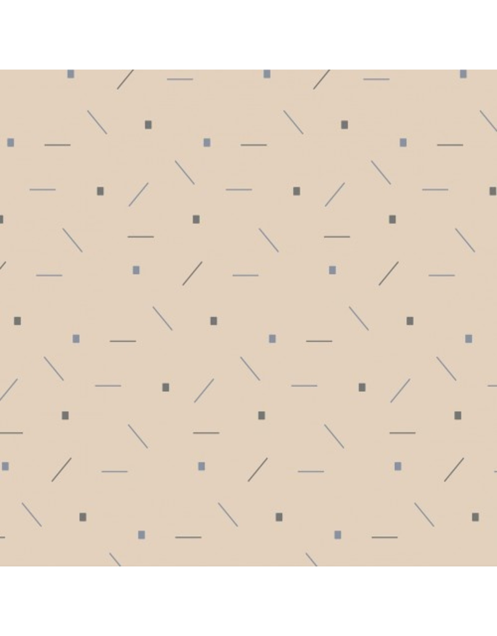 About Blue Fabrics French Terry - Confetti soft tone