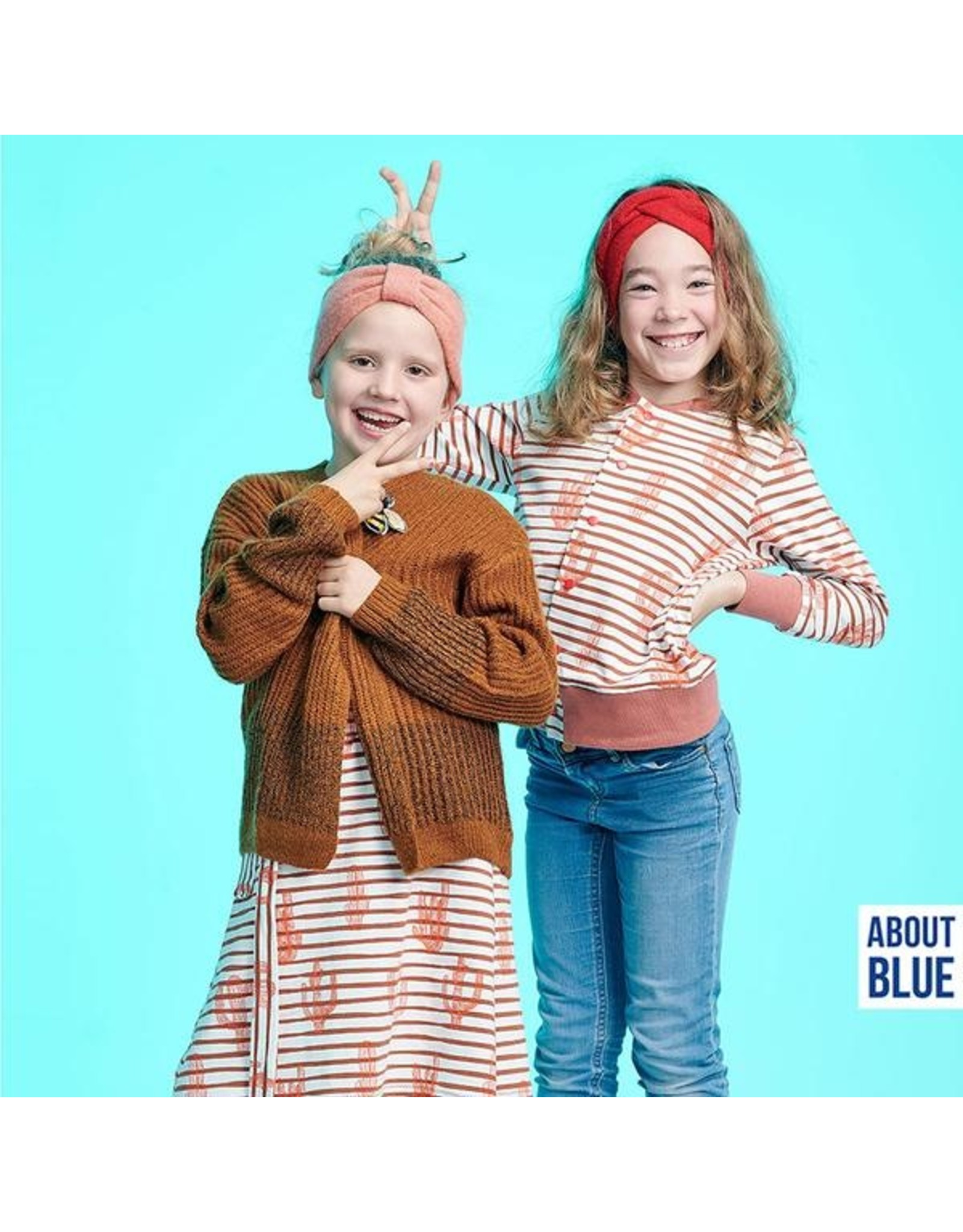 About Blue Fabrics French Terry - Go West