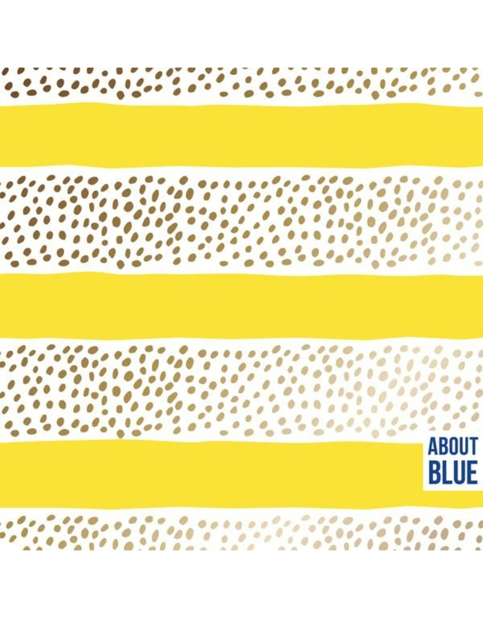 About Blue Fabrics French Terry - Golden Rain