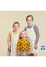 About Blue Fabrics French Terry - Life On Wheels COUPON 1.40m