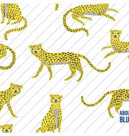 About Blue Fabrics French Terry - Say Cheeta