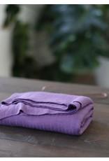 Mind The Maker Viscose Trim Knit - Violet Fig