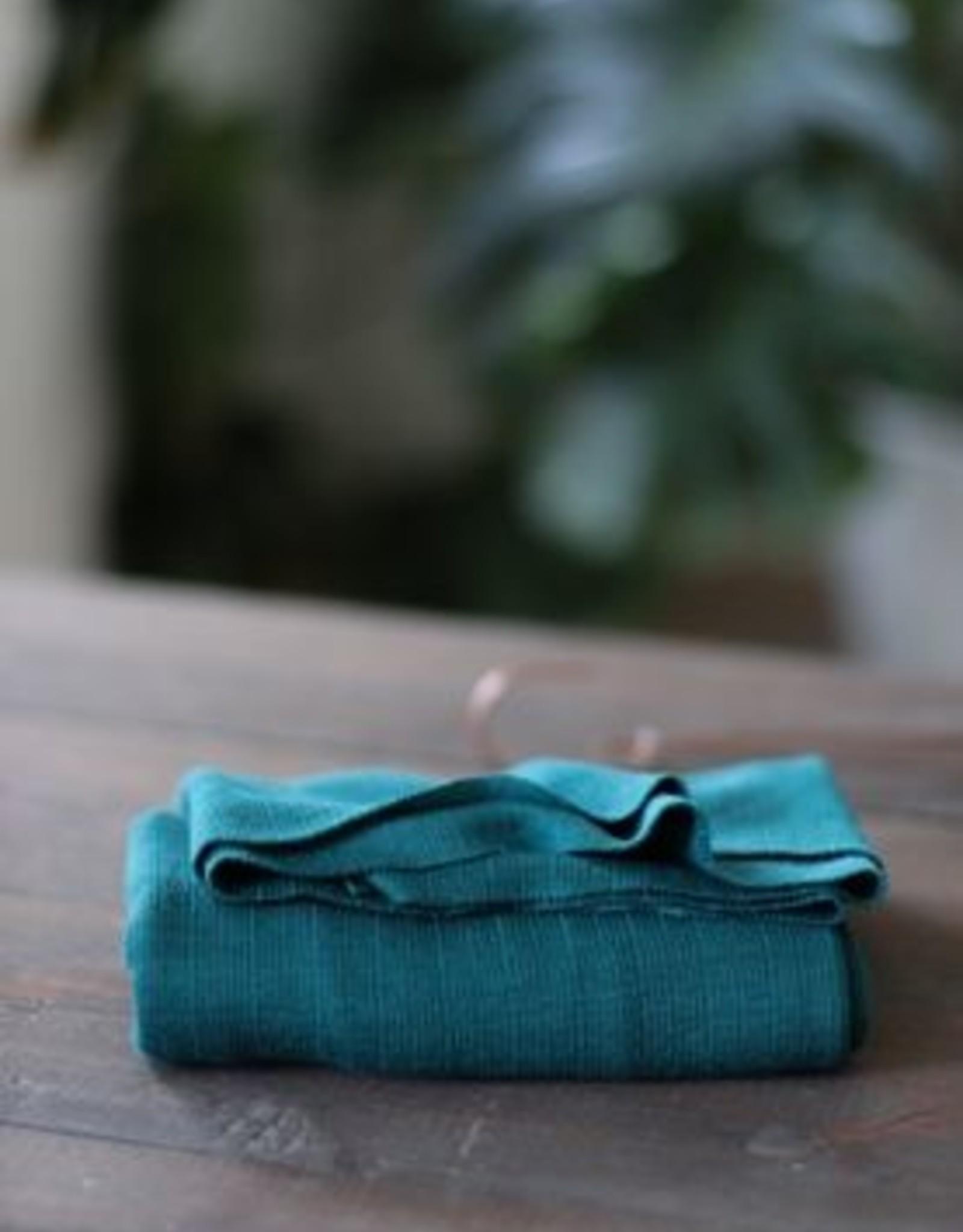 Mind The Maker Viscose Trim Knit - Tropic Green COUPON 80 cm