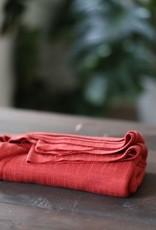Mind The Maker Viscose Trim Knit - Russet Red