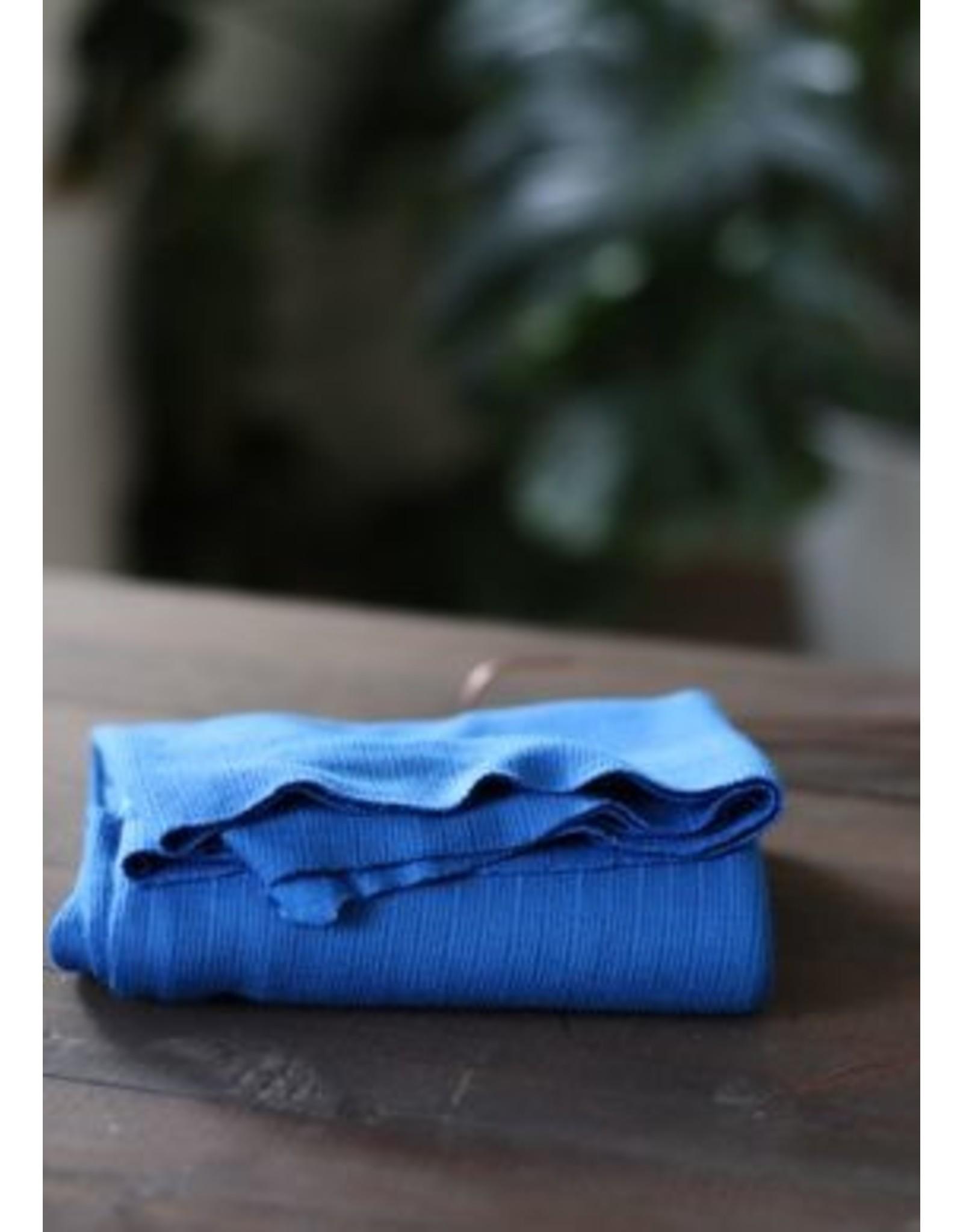 Mind The Maker Viscose Trim Knit - Intense Blue
