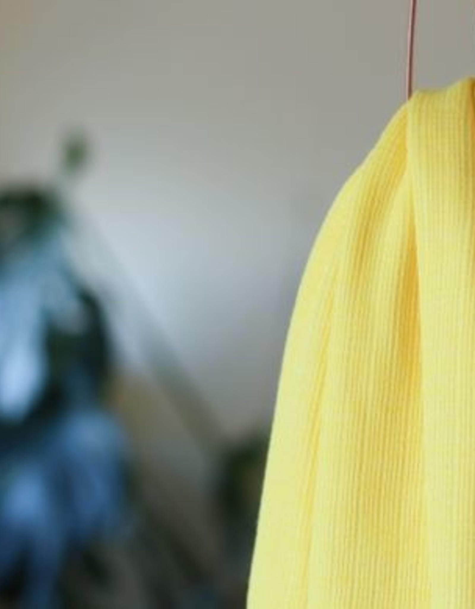 Mind The Maker Viscose Trim Knit - Flashing Yellow