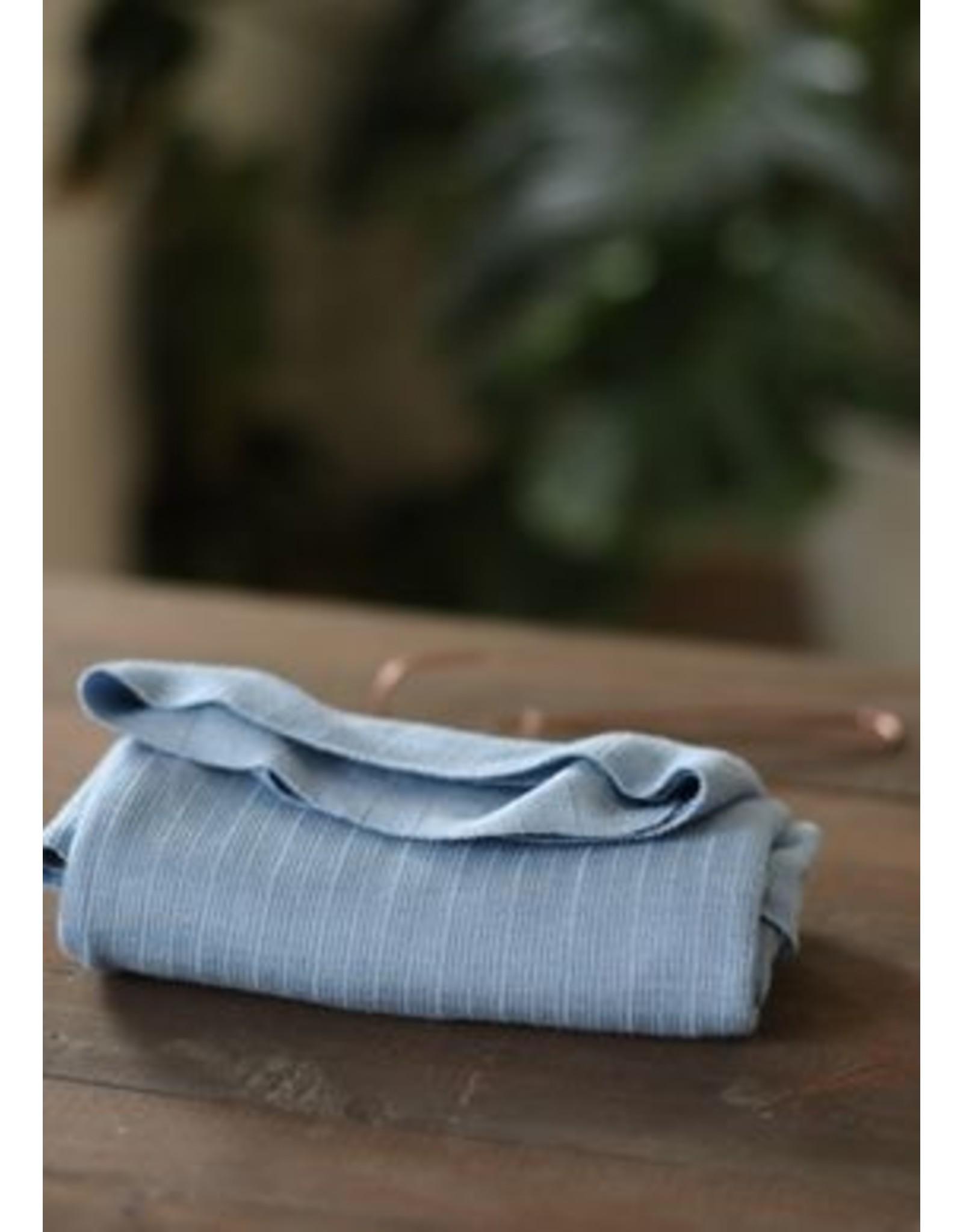 Mind The Maker Viscose Trim Knit - Faded Blue