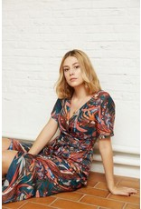 Atelier Jupe Viscose with ethincal print