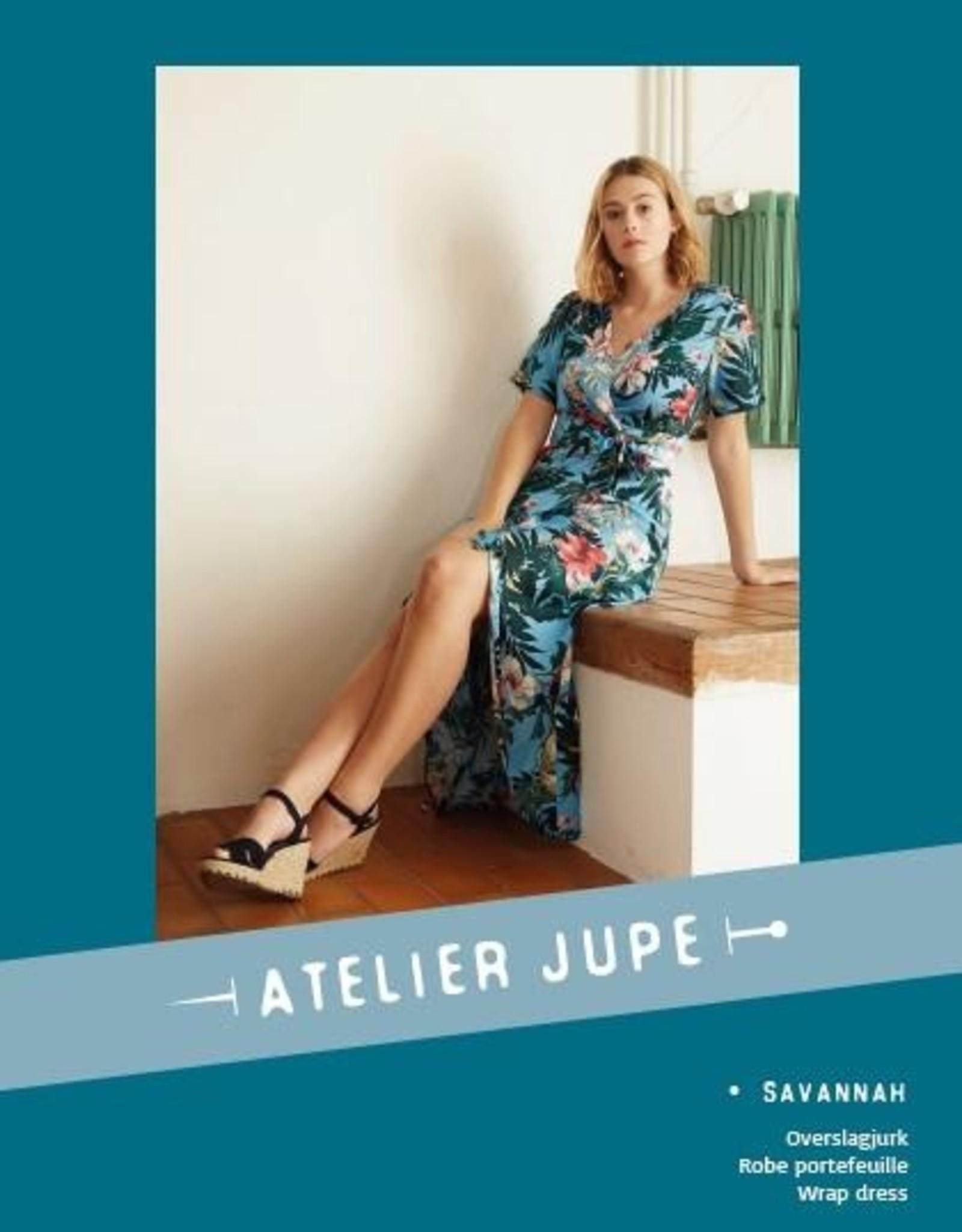 Atelier Jupe Savannah wrap dress - paper pattern