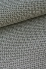 Stik-Stof Geweven wit/groen lurex