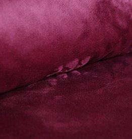 Shannon Fabrics cuddle fleece pruim