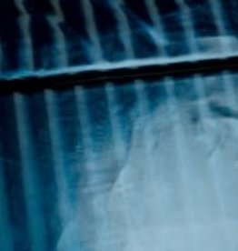 Editex Blauw blinkende waterafstotende stof