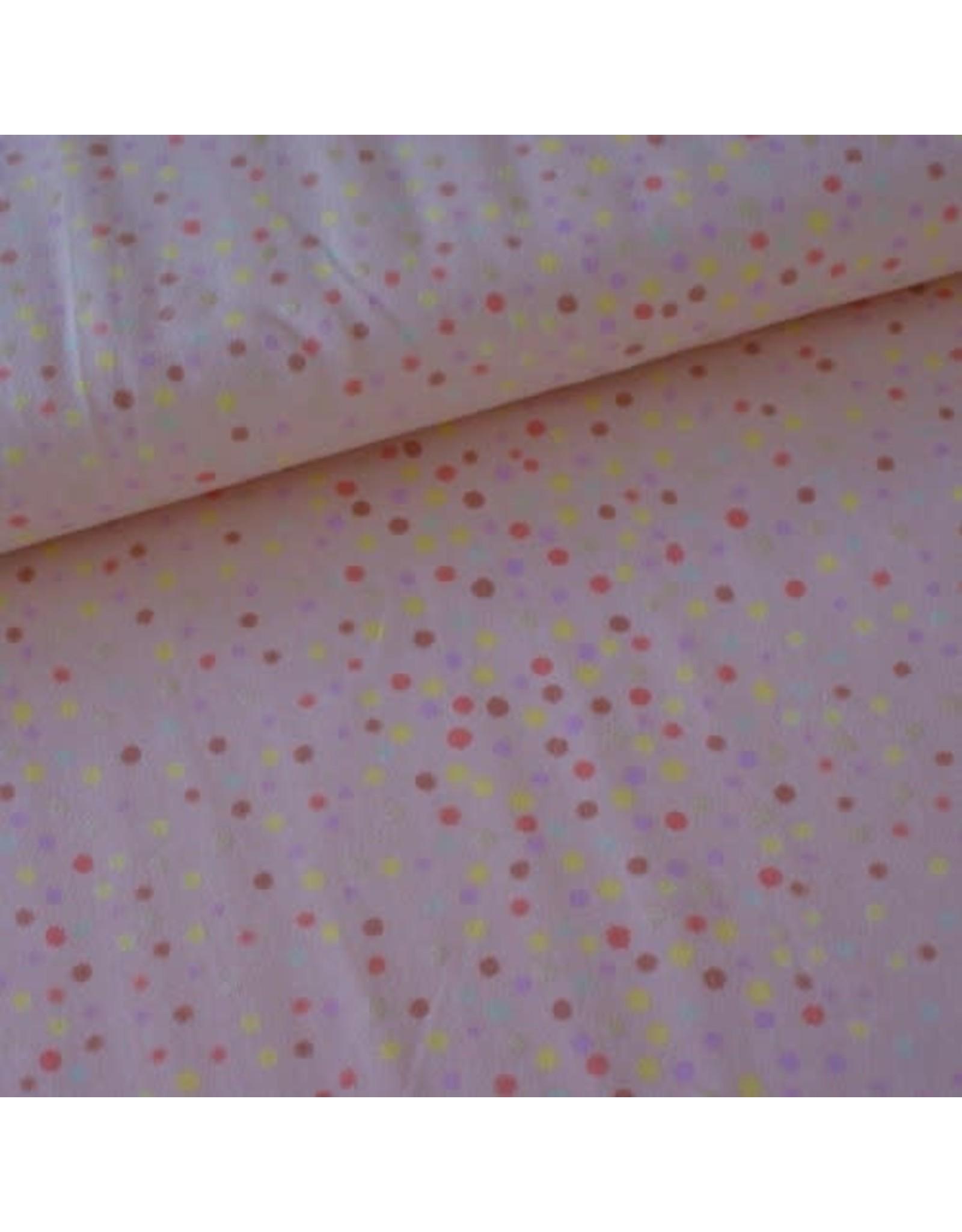 Rico Design Confetti mettalic roze