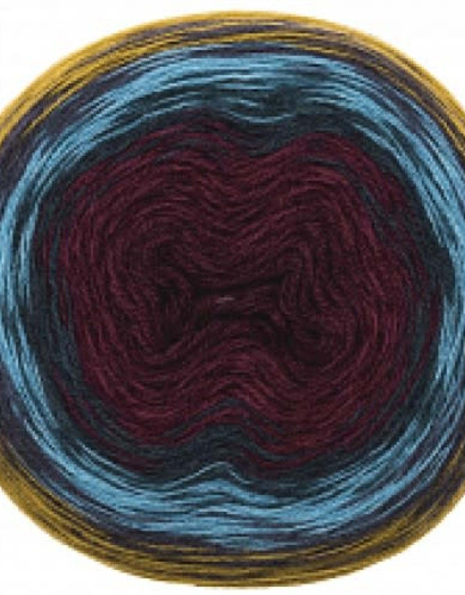 Rico Design Creative wool dégradé super 6 mosterd - rood