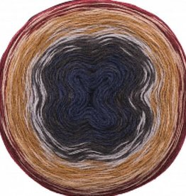 Rico Design Creative wool dégradé super 6 rood - blauw