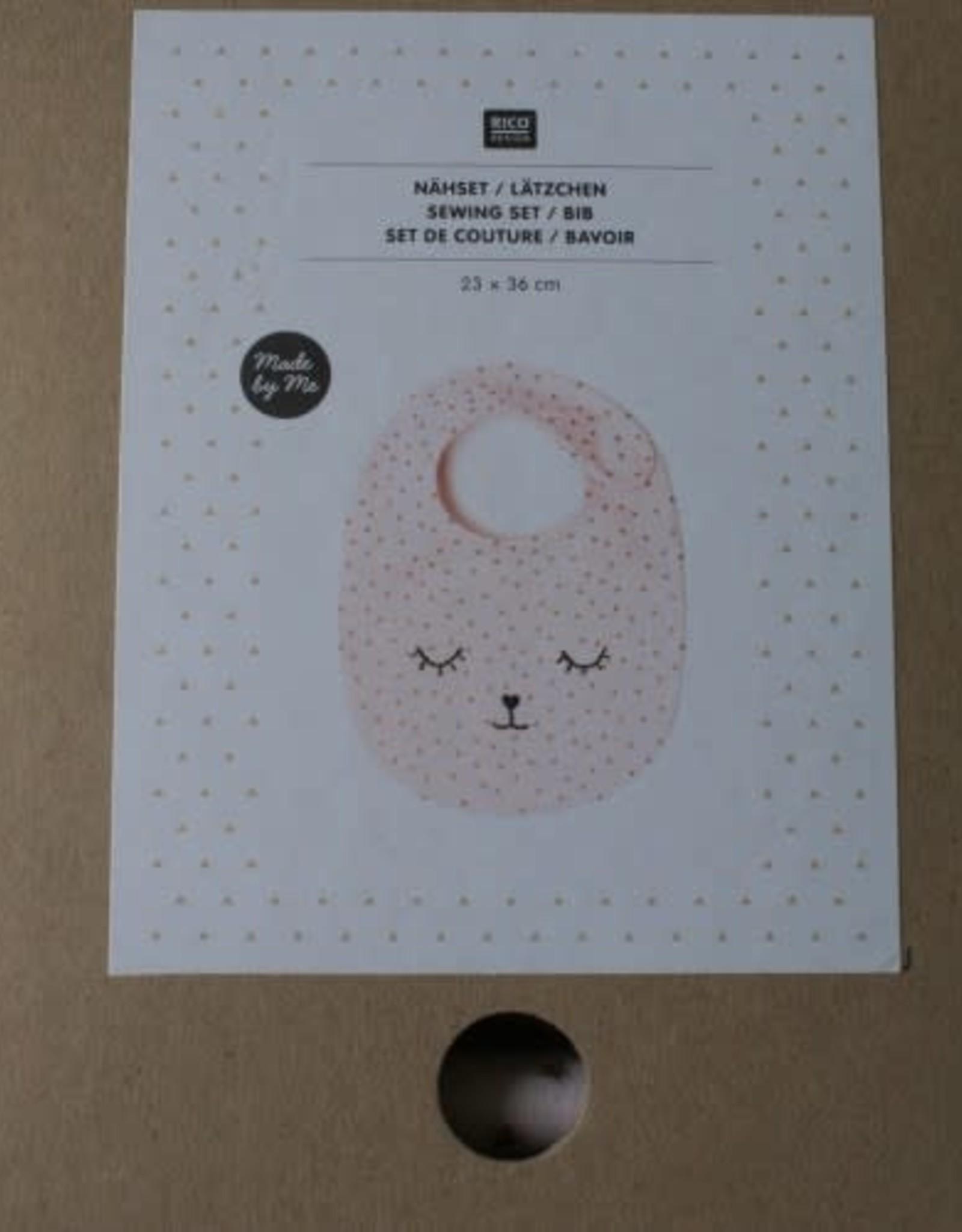Rico Design DIY pakketje slabbetje roze