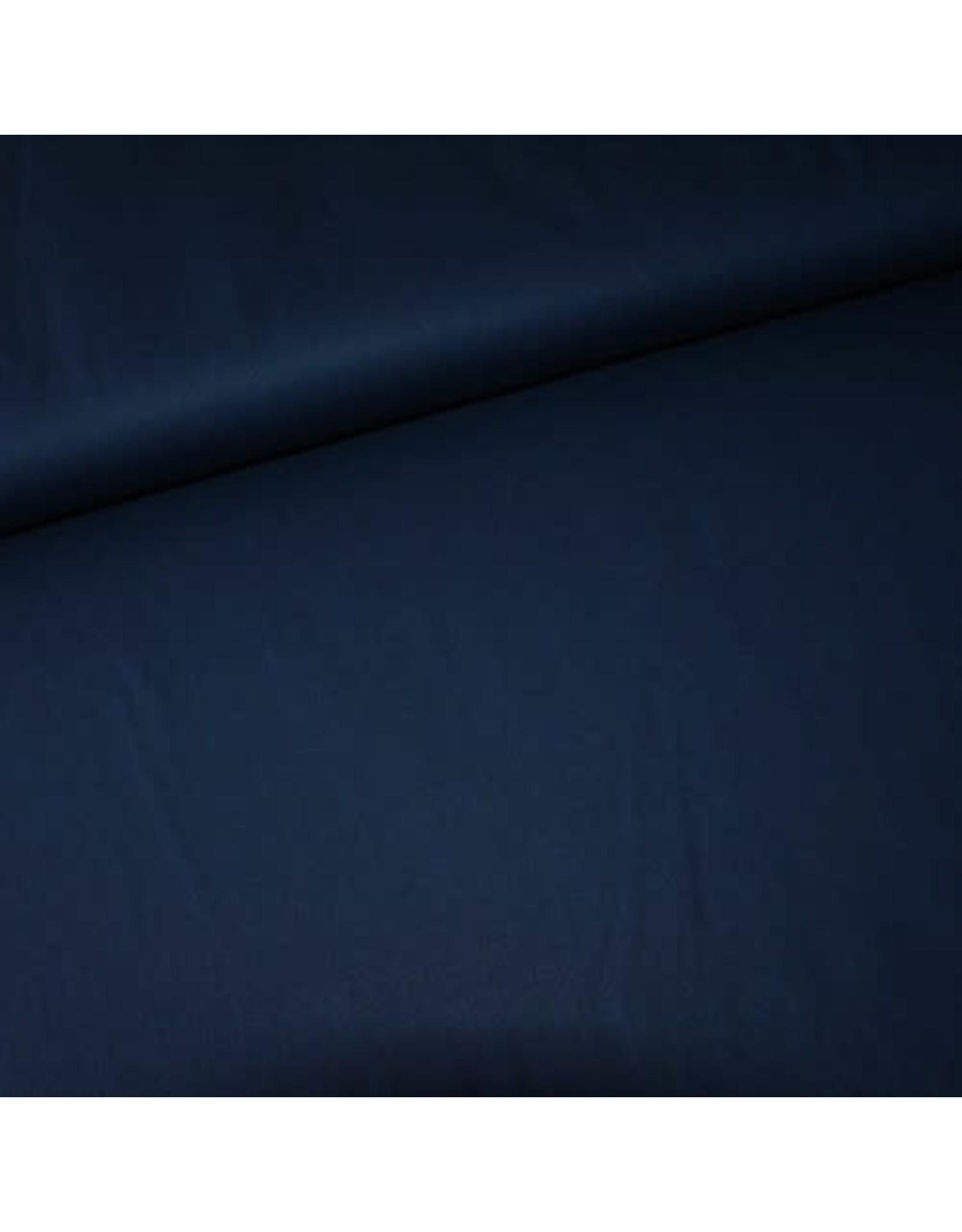 Stik-Stof Donkerblauwe katoen