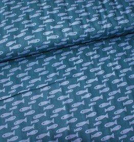 Rico Design Double gauze visjes COUPON 35 cm