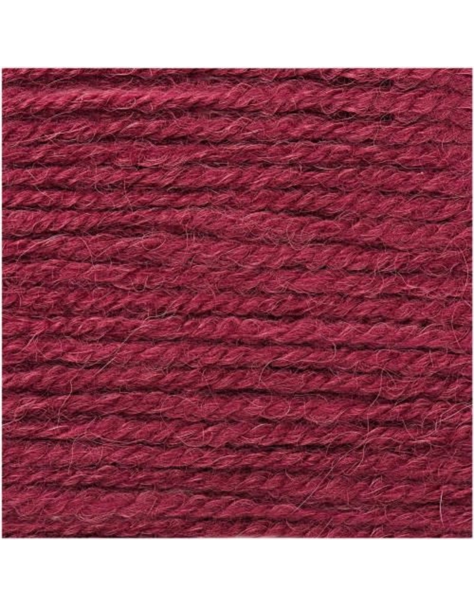 Rico Design Essential Alpaca twist chunky bordeaux