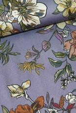 Polytex Flower print paars