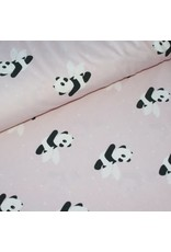 About Blue Fabrics Flying panda