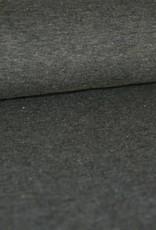 Stik-Stof Gemeleerd donker grijs COUPON 65 cm
