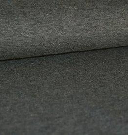 Stik-Stof Gemeleerd donker grijs
