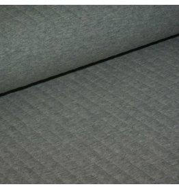 Domotex Gewatteerde doorstikte jersey grijs