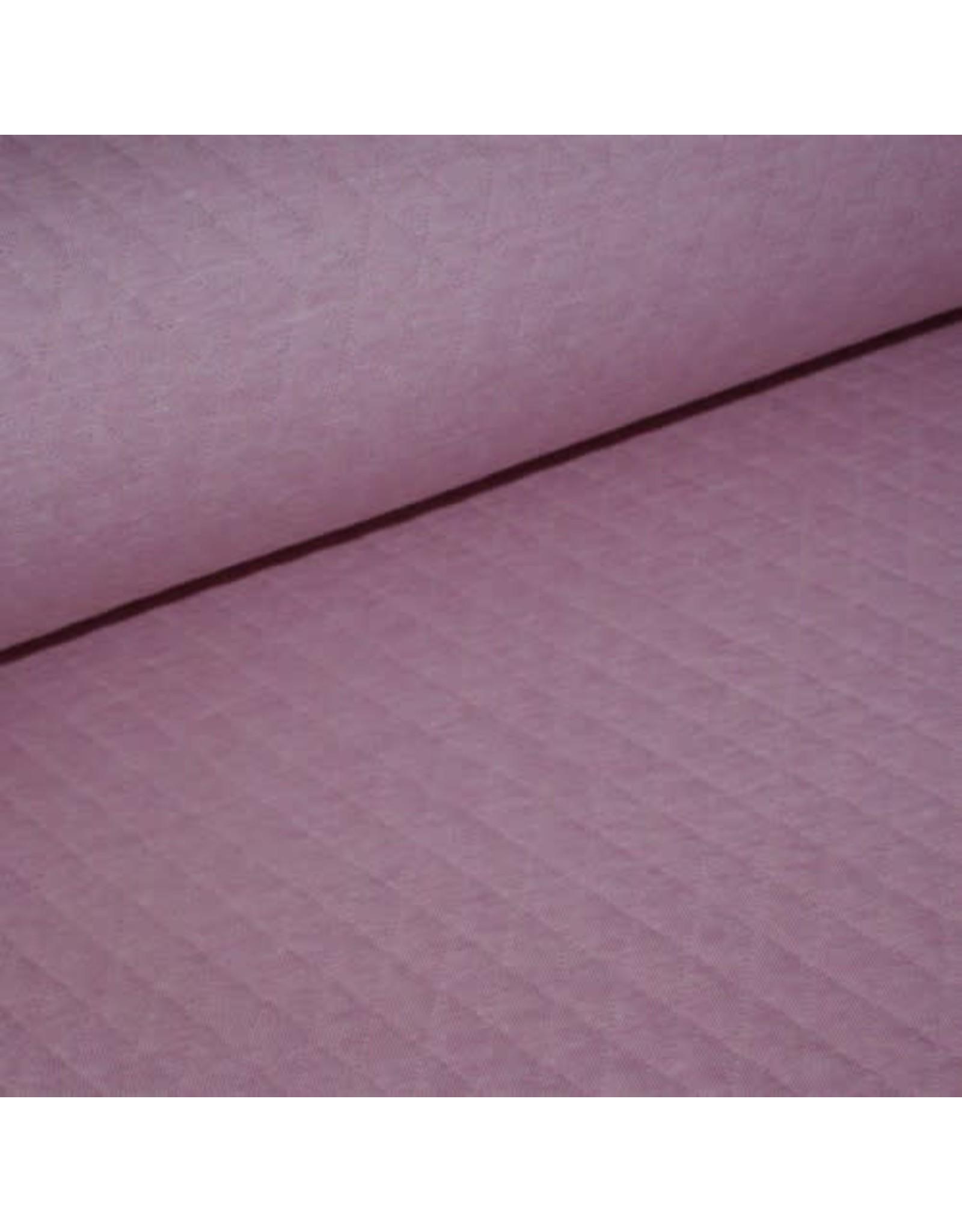 Domotex Gewatteerde doorstikte jersey roze