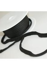 Stik-Stof Hoodie koord zwart
