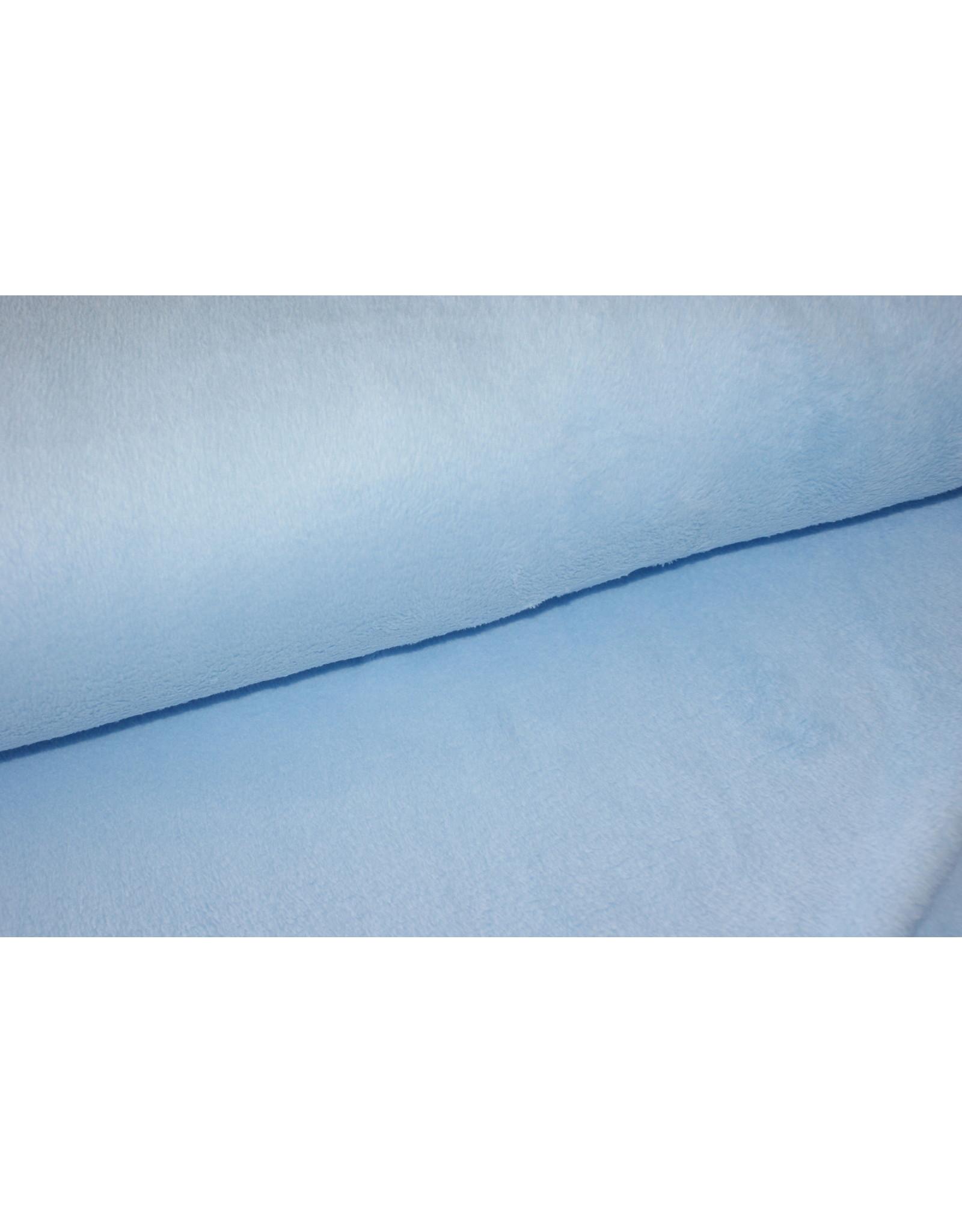 Stik-Stof Welness fleece lichtblauw