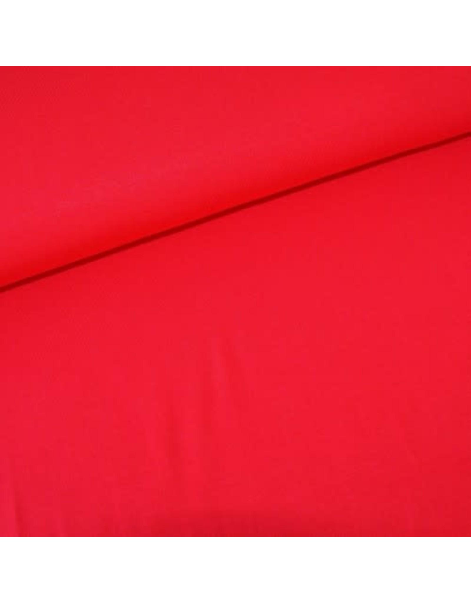 Stik-Stof Modal jersey rood