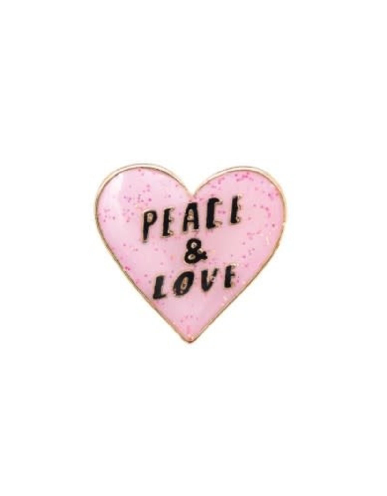 Rico Design Pin peace & love