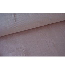 Stik-Stof riblfuweel stretch oud roze