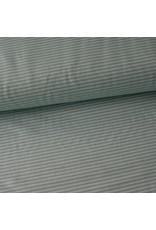 Stik-Stof Streep mint/grijspaars