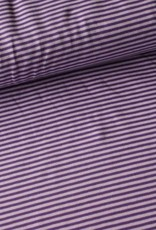 Stik-Stof Streep paars/lila
