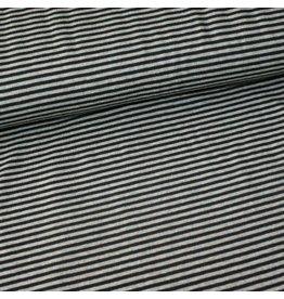 Stik-Stof Streep zwart/grijs
