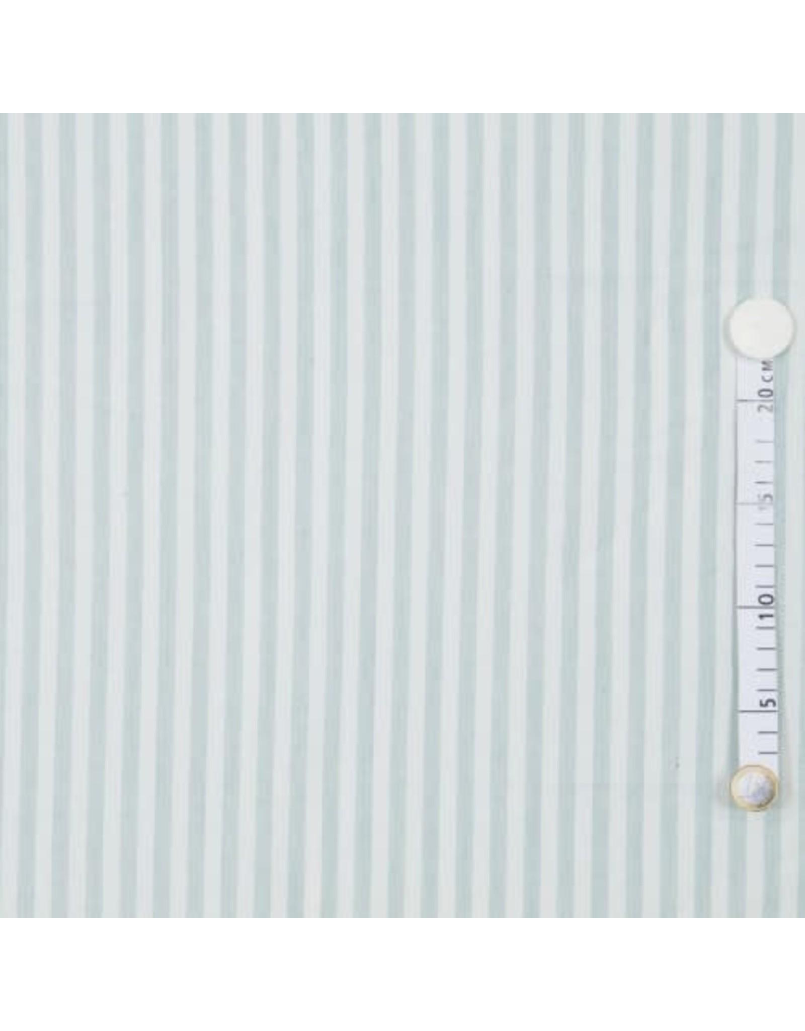 Stripes mint/wit