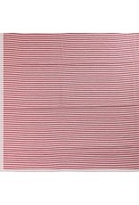 Small stripe rood/ecru
