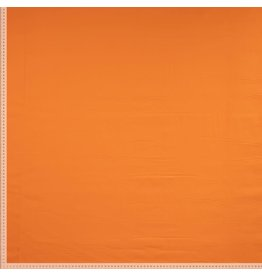 Stik-Stof Uni katoen oranje
