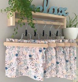 Paper bag skirt garden