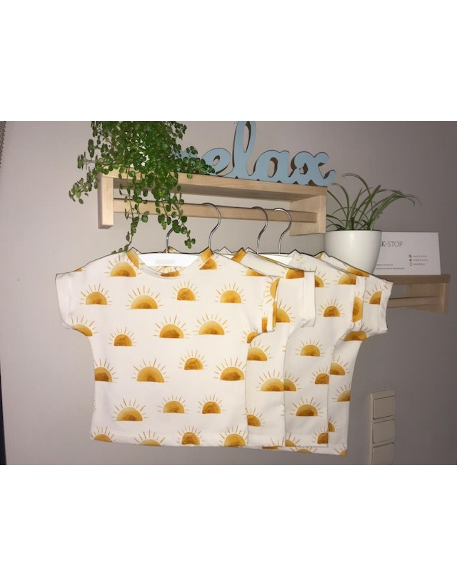 Stik-Stof T shirt Sun