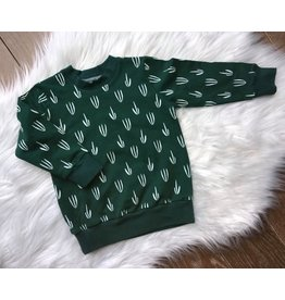 Stik-Stof Green Sweater