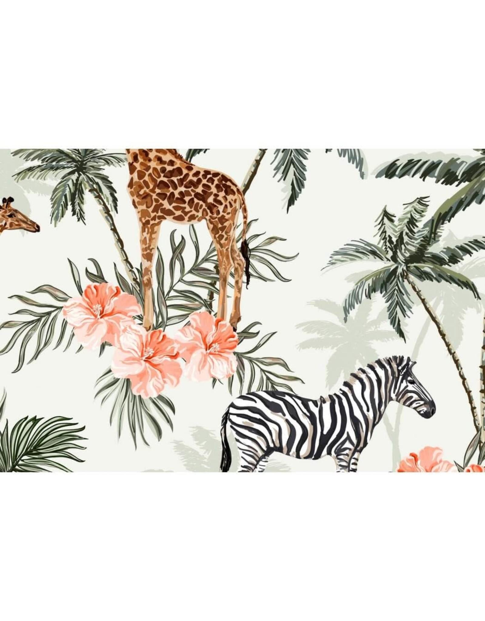 Megan Blue Zebra en giraffe