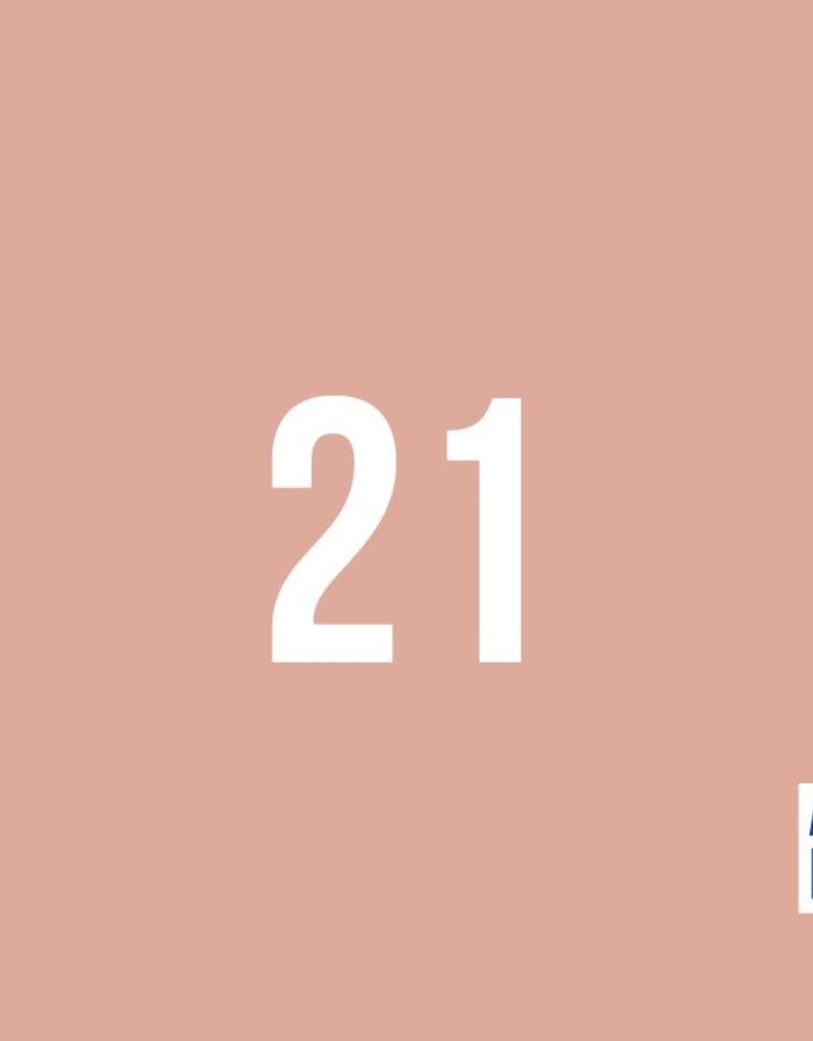 About Blue Fabrics Uni 21 Dusty pink