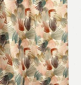 Atelier Jupe Viscose met kleurrijke lijntjes
