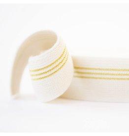 See You At SIx Elastische tailleband gouden lijnen
