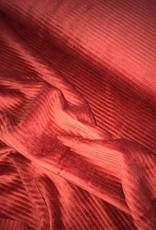 Stik-Stof Brede rib Jersey Red